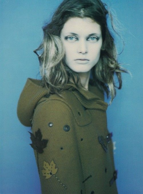 """In Posa""  Malgosia Bela by Paolo Roversi for Vogue Italia September 1999"