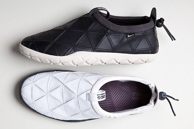 Nike has unveiled a new version of their slip-on Air Moc as part of their ACG collection. The Nike Air Moc ACG Edition pairs a rubber so...