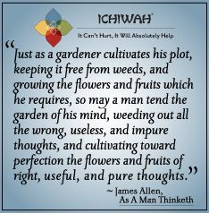 James Allen quote from As A Man Thinketh