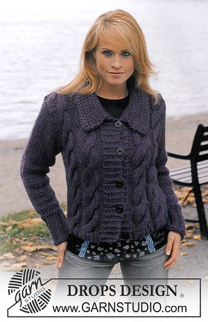 Ravelry: 83-7 Cardigan in Eskimo pattern by DROPS design