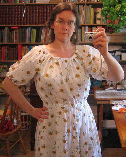 Janel Was Here - Free Printable Peasant Dress Pattern