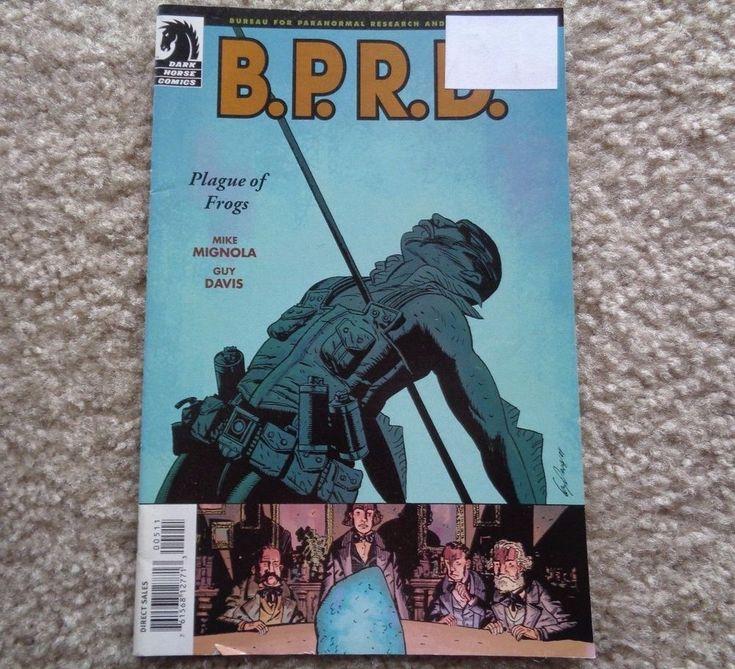 Dark Horse Comics BPRD Plague of Frogs July 21-25 2004
