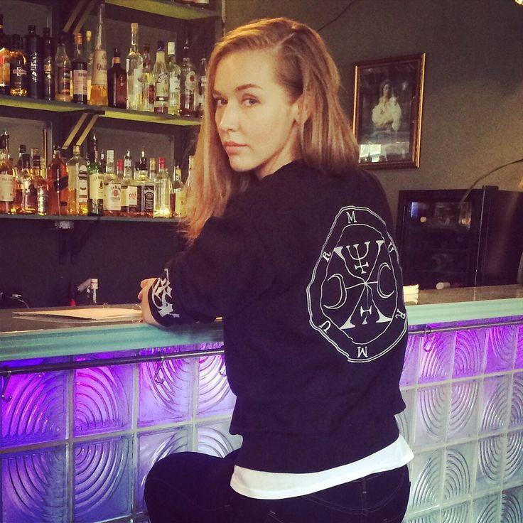 One of our beautiful customers rocking MurMur sweatshirt #ghettogothic #goth #streetwear Street goth, health goth, ghetto goth stuff