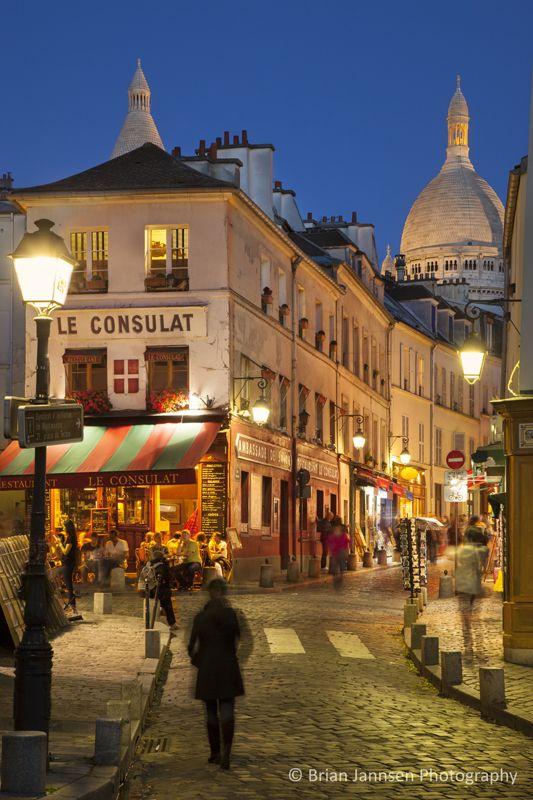 Montmartre, Paris France. © Brian Jannsen Photography