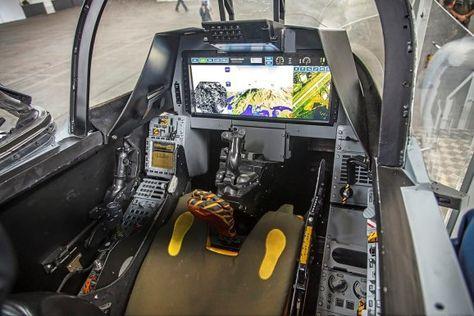 Saab JAS 39 Gripen E Cockpit