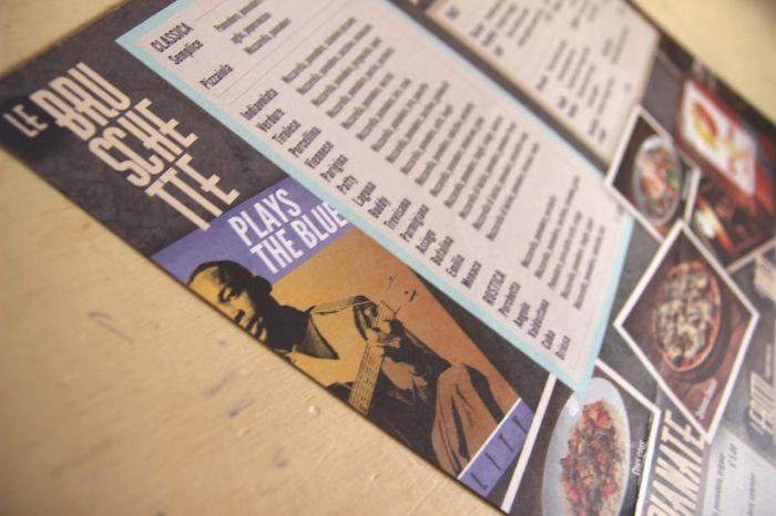 Blues Pub menu - detail