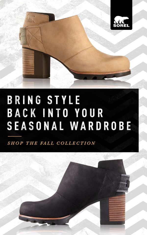 Bring style back into your fall wardrobe with the Addington Strap from  Sorel. Choose the