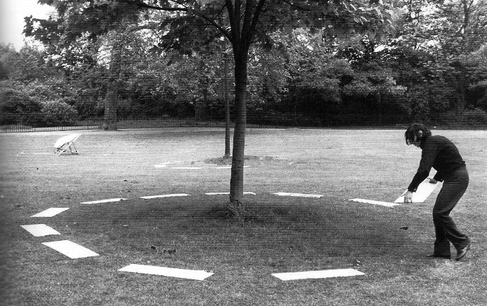 David Lamelas Demarcating Three Objects, 1968