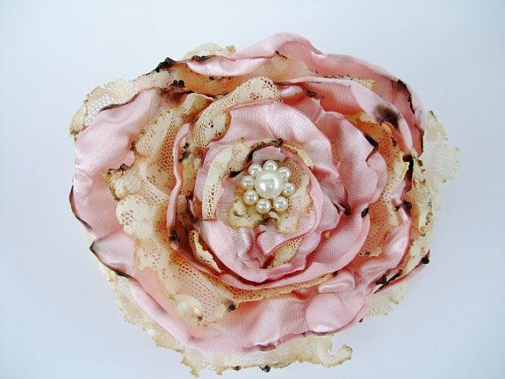 Wedding Hair Flower Pink Flower Accessory Tea by OurPlaceToNest, $12.00 Last one available ~ Marked down: Pink Flower, Wedding Hair Flowers, Wedding Hairs, Dream Wedding, Accessory Tea, Flower Pink