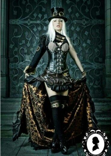 17 best images about steampunk costumes on pinterest steampunk outfits corsets and gray. Black Bedroom Furniture Sets. Home Design Ideas