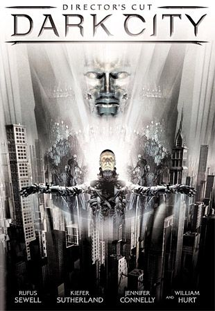 If movie-time for you means a complete vacation from reality for 2-hours, Dark City could be worthy. Of course you also have to be down with a dark, comic-book style hero playing the lead. If you saw the movie Crow or I, Robot, you know that visionary-weirdo director Alex Proyas will take you places you've never even dreamed of.