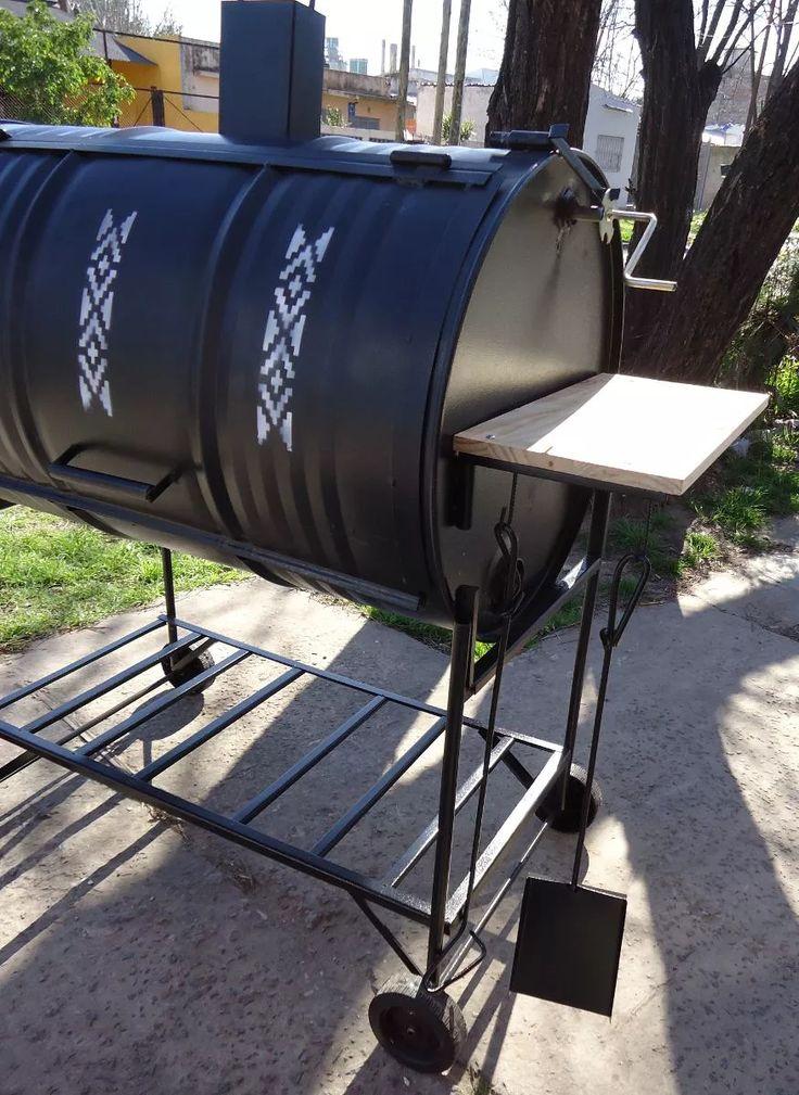 Best 20 parrilla tambor ideas on pinterest fumador de for Como hacer una puerta de tambor