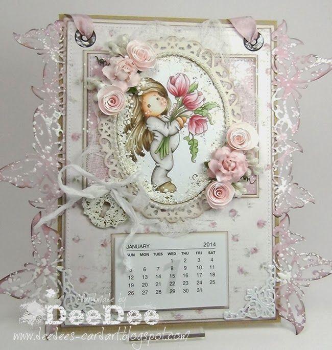 DeeDee´s Card Art: ♥ Marvelous Magnolia Birthday Bash DT ♥