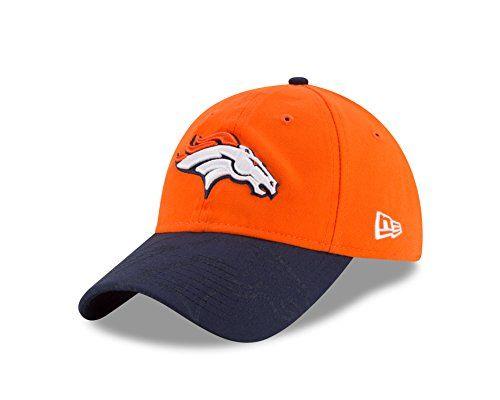 NFL Denver Broncos 2016 Womens Side Line LS 9TWENTY Adjustable Cap One Size OrangeBlue -- Click image for more details.