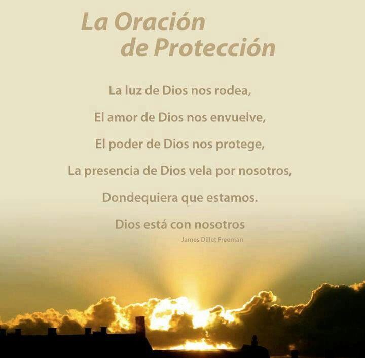 Oracion de protección                                                                                                                                                     Más