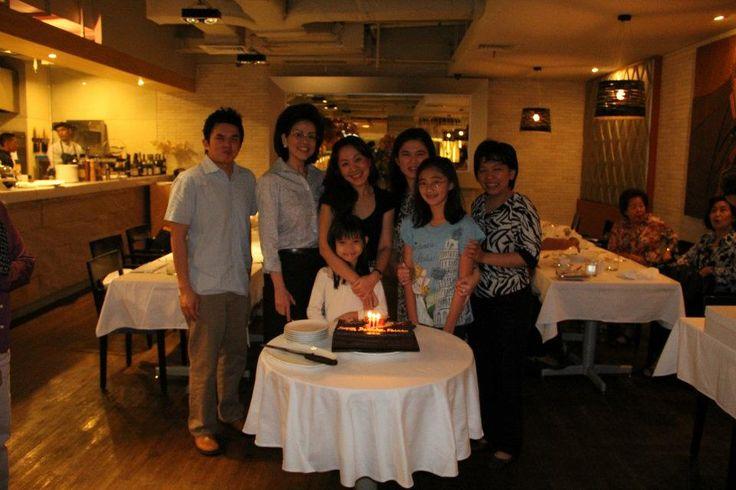 Birthday's celebration..