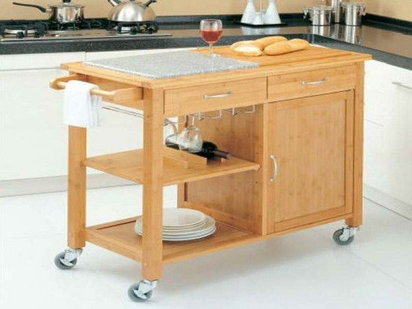 1000 ideas about rolling kitchen cart on pinterest. Black Bedroom Furniture Sets. Home Design Ideas