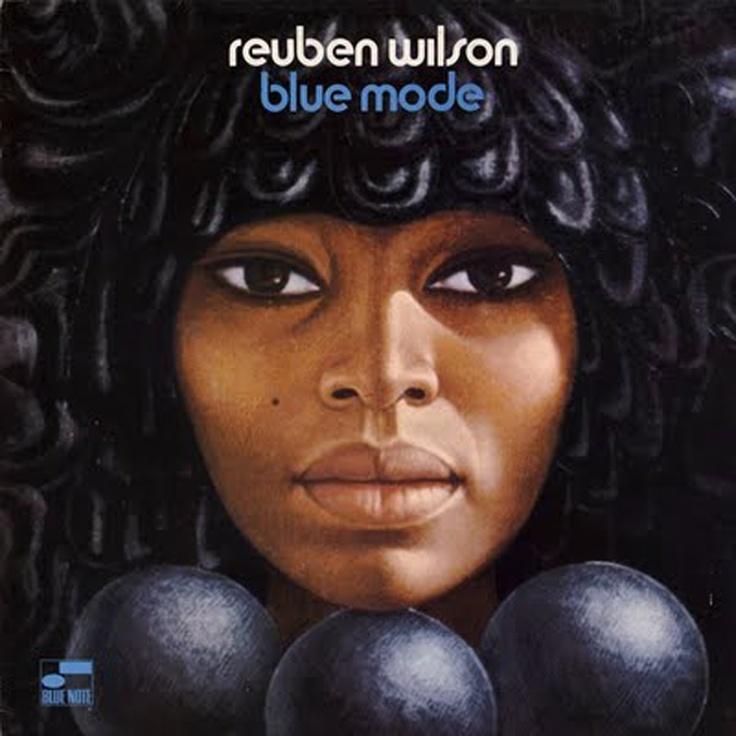 Reuben Wilson / Blue Mode - Illustration de Mati Klarwein (Miles Davis / Bitches Brew - Santana / Abraxas - The Last Poets / Holly Terror...)