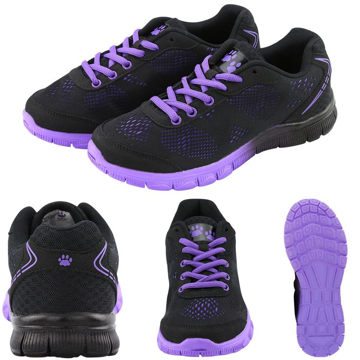 Purple Paw Ultralite™ Gradient Shoes at The Animal Rescue Site