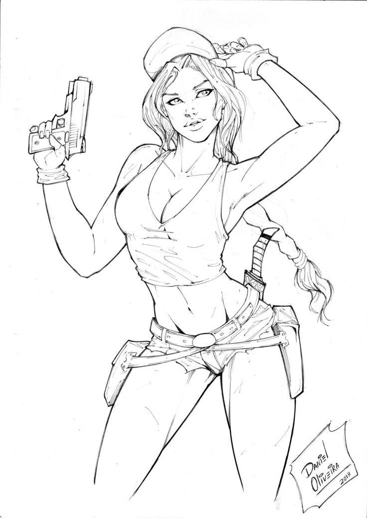 Lara Croft by DanOliveira.deviantart.com on @DeviantArt