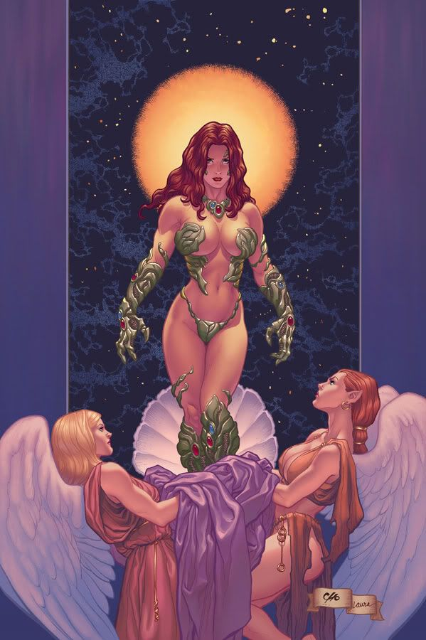 Witchblade by Frank Cho