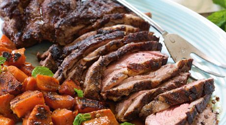 Tandoori-Spiced Leg Of Lamb Recipe — Dishmaps