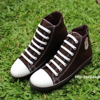 Sepatu Kanvas - Casual Warna Coklat Ciarmy Type SKC-02