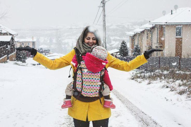 #LiliputiStyleProject #love #motherhood #mother #motherandbaby #winter #winterstyle #style #snow #snowflakes #yellow #coat #happy #smile #motheranddaughter #family #photography #beautiful #beauty #photo #perfect #fashion #stylishmom #look #outfit #babywearing #wearallthebabies #LiliputiStyle