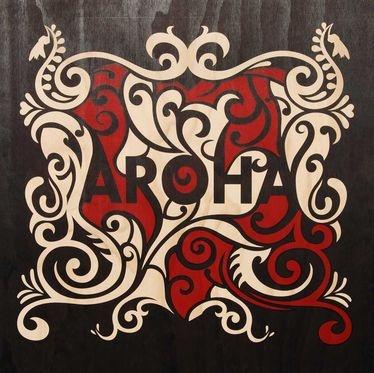 "Aroha means ""Love"" in Te Reo Māori - Shane Hansen"