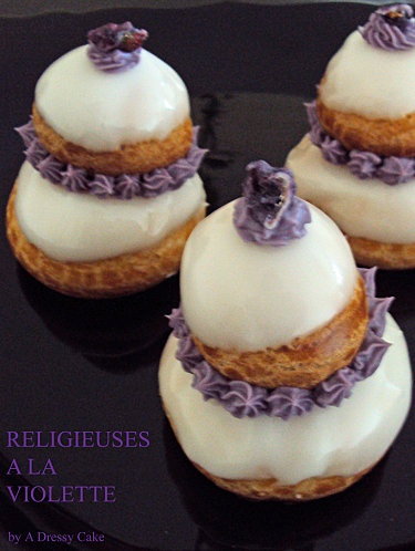 The Religieuse. The pinnacle of unnecessary, yummy indulgence.