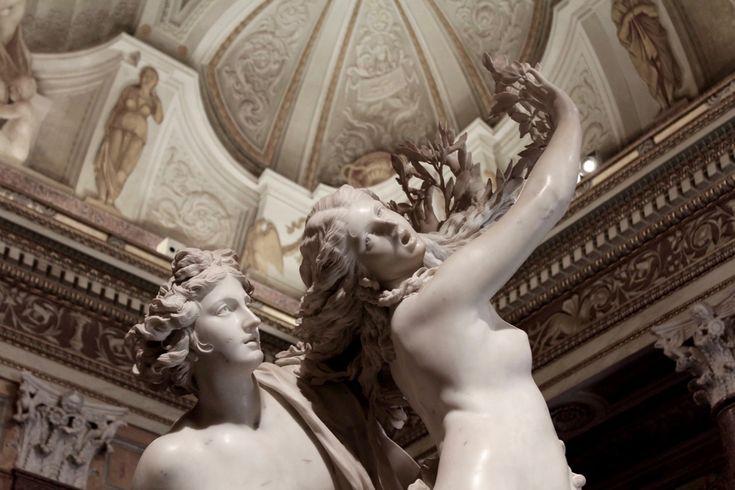 Apollo e Dafne - Bernini - Galleria Borghese wanderlustblog.link/GalleriaBorghese