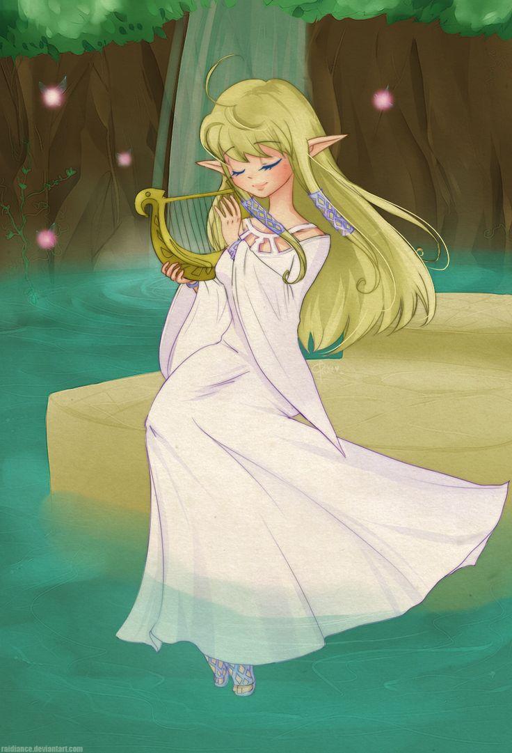 The Legend of Zelda: Skyward Sword - Zelda