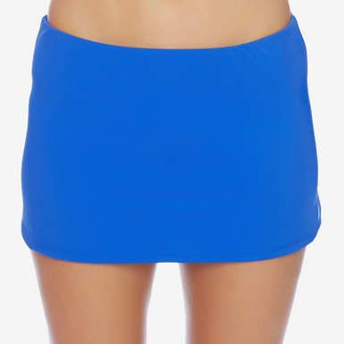 Nautica Signature Solid Swim Skirt
