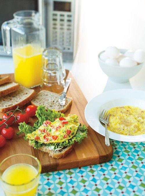 Cuiseur petit-déjeûner  Omelettes faciles au micro-ondes Recettes | Ricardo