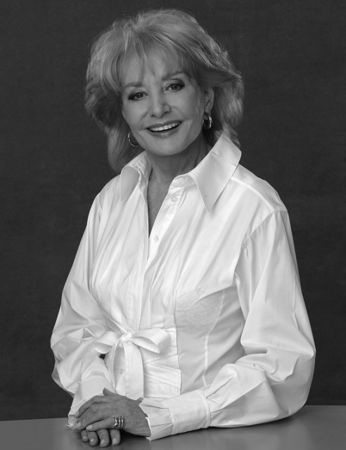 """And I really do believe that the most important thing is the way you live your life on earth. But I think it's enormously comforting to believe that you're going to see your loved ones."" Barbara Walters"