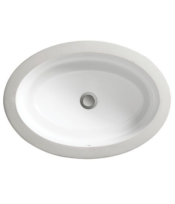 Pop Grande Oval Under Counter Lavatory from DXV