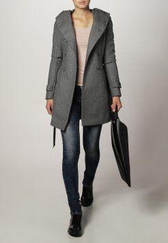 ONLY - NEW LISA - Frakker / klassisk frakker - light grey melange