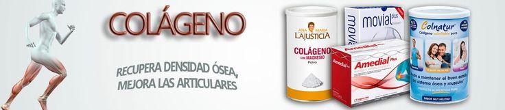 El #colágeno ayuda a tener en forma #huesos y #músculos. Tenemos una selección de productos para ti