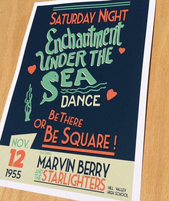 Encanto bajo el cartel de danza mar