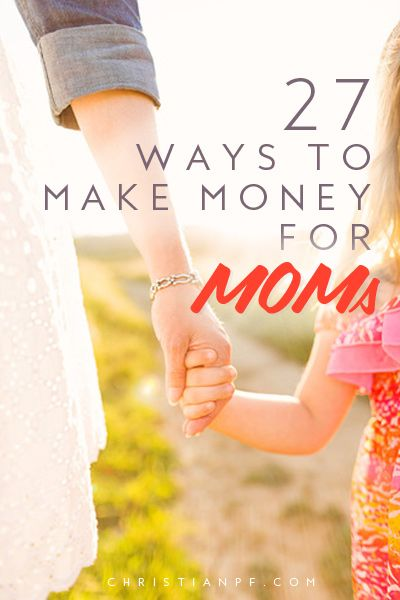 Alright moms at home, this one is for you.  In this article we have packed in a bunch of flexible ways to make money so you can bring in a little extra cash on the side.  The good news for SAHMs today is there are a wide range of ways to make money- that weren't around a decade ago.  So check them out! http://christianpf.com/ways-for-sahm-to-make-money/?utm_source=Pinterest&utm_medium=CPC&utm_content=5&utm_campaign=sahm