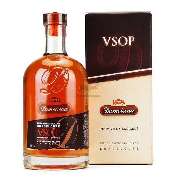 Rhum vieux DAMOISEAU VSOP minimum 4 ans - Guadeloupe - Distillerie ...