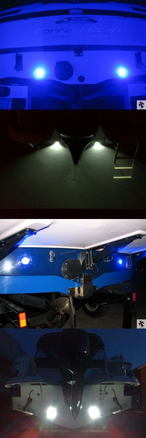 boat parts: Underwater Boat Led Light-Under Water Fishing Leds-Wakeboard Board Marine Lights -> BUY IT NOW ONLY: $104.99 on eBay!