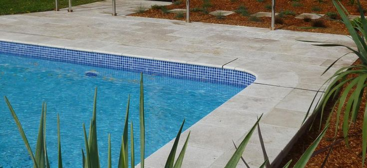 Water Line Pool Tile | Pool coping, waterline tiles, pool surrounds
