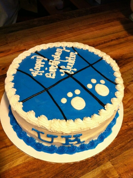 UK Birthday Cake