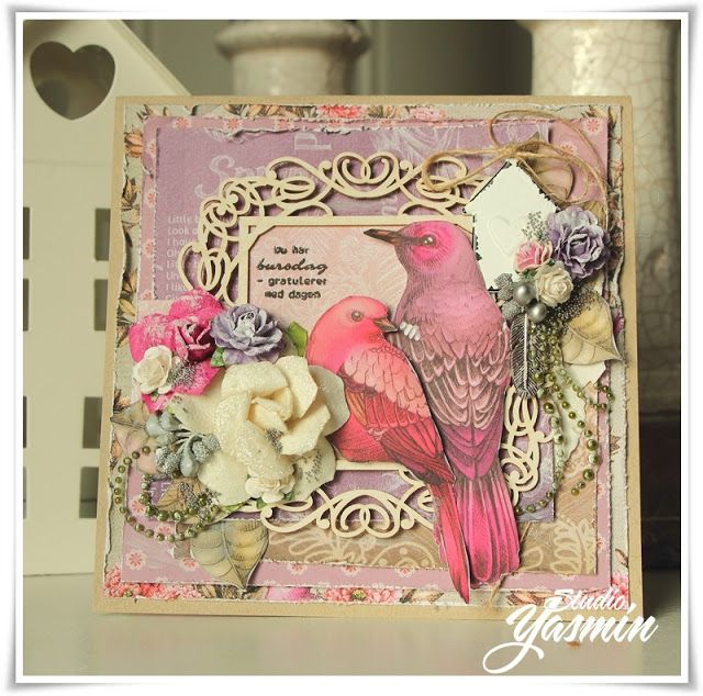 DT Card made for Scrapberry's November Challenge.
