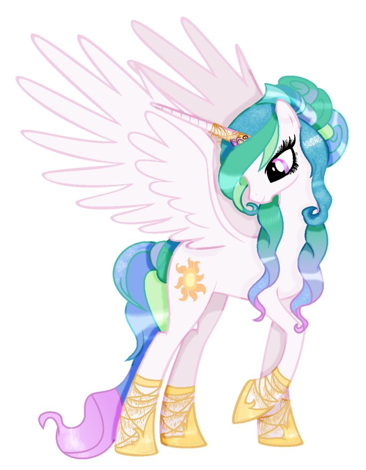 mlp Princess celestia my style by Cloudilicious on DeviantArt