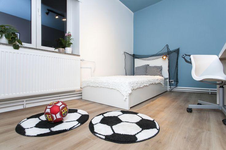 Detská izba pre malého futbalistu