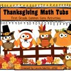 Gobble up some fun with this 74 page Thanksgiving themed Math packet!! Thanksgiving Math Tubs includes 5 hands-on activities (7 if you include all ...