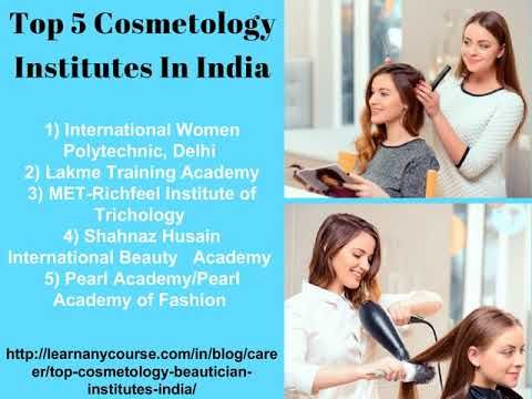 Top 5 Cosmetology Institutes In India | Learn Any Course | Learn