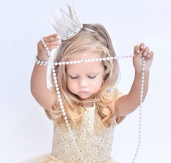 NEW harlow... BOY unisex lace crown HEADBAND by lovecrushbowtique